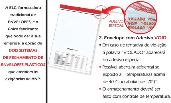 Envelopes Adesivos Void ANP