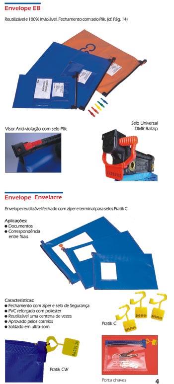 Envelopes reutilizáveis Ballzip