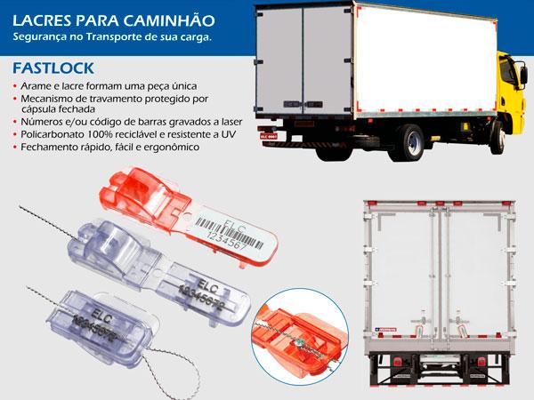 Lacres para caminhão Fastlock