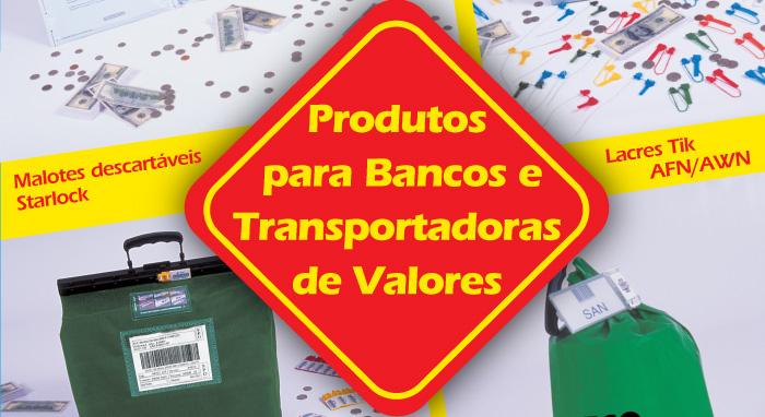 Produtos para bancos e transportadoras de valores