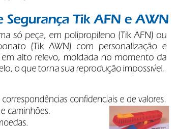 Selos de Segurança TIK AFN e AWN
