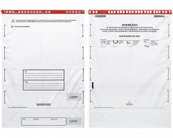 Envelopes plásticos de segurança com lacre Starlock®