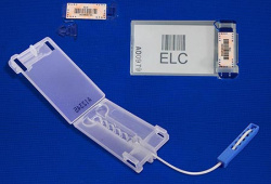 Sistema lacres plásticos reutilizáveis para malotes Leverlock