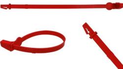 Lacres plásticos de segurança com aperto fixo Bandseal
