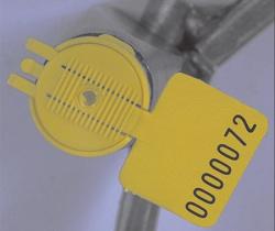 Lacres plásticos para medidores de luz, água e gás Cap'lock