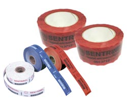 tamper evident label roll