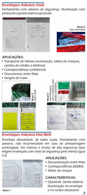 Envelopes Plásticos Adesivos