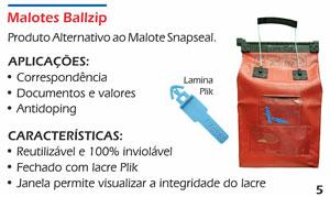 Malotes Reutilizáveis Ballzip