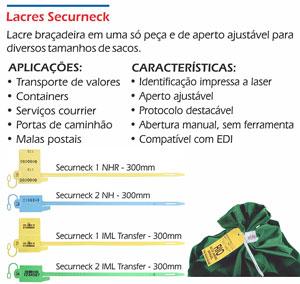 Lacres plásticos rabicho Securneck