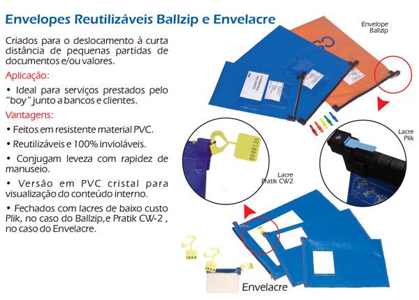 Envelopes Reutilizáveis Envelacre