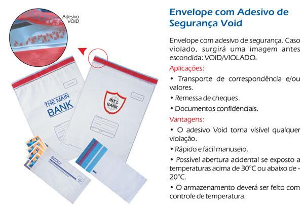 Envelopes Adesivos Void