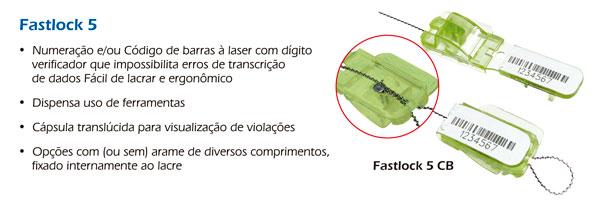 Lacre Fastlock 5 CB PC