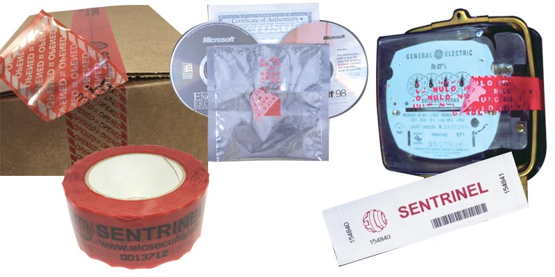 sentrinel tapes and labels